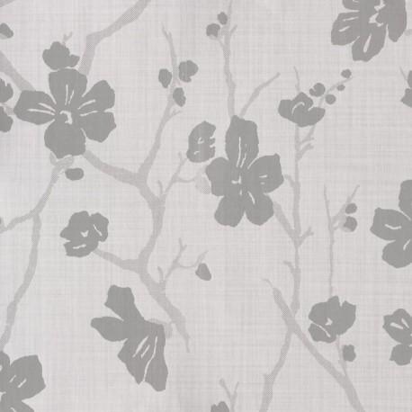 Corcelle Argent Pale Grey Floral Wallpaper