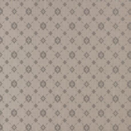 Toison Or Pale Gold Trellis Wallpaper