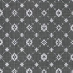 Toison Graphite Grey Trellis Wallpaper