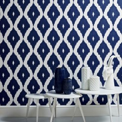 Kellys Ikat Wallpaper