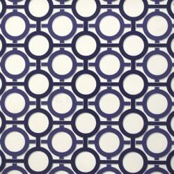 Enigma Blue Retro Wallpaper