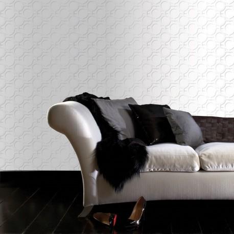 Enigma White Wallpaper