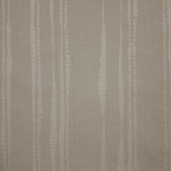 Laddered Stripe Taupe Brown Wallpaper
