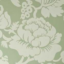 Wildflower Sage Green Floral Wallpaper