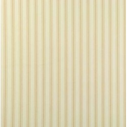 Ticking 01 Cream Stripe Wallpaper