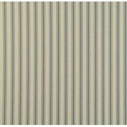 Ticking 01 Indigo Blue Stripe Wallpaper