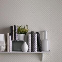 Trellis Parchment Cream Floral Wallpaper