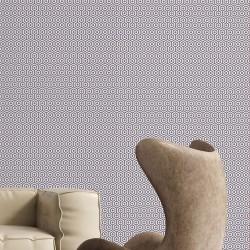 Honeys Grey & SIlver Wallpaper
