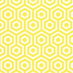 Honeys Yellow & SIlver Wallpaper