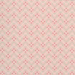 Diagonal Dot Salmon Pink Wallpaper