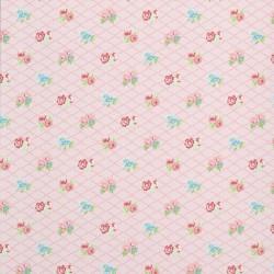 Losange Pink Wallpaper