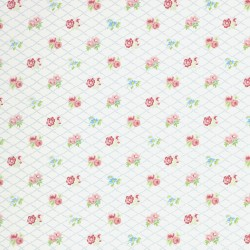 Losange White Wallpaper