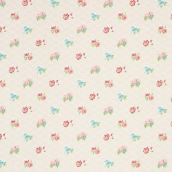 Losange Beige Wallpaper