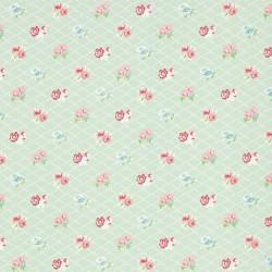 Losange Mint Wallpaper