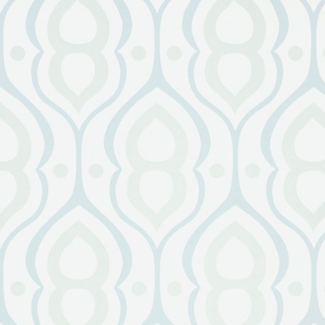 Retro Blue Wallpaper