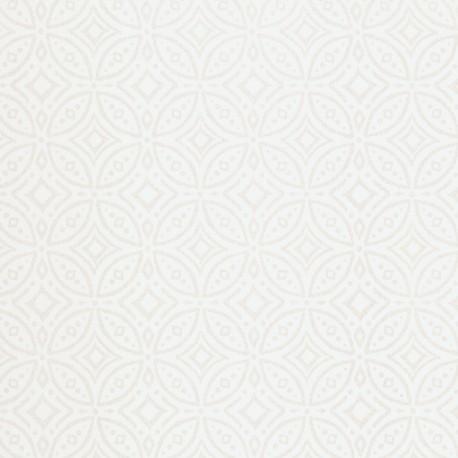 Tile Silver Wallpaper