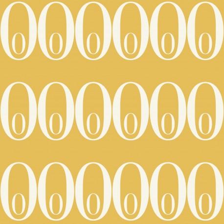 No00 Mustard Yellow Wallpaper