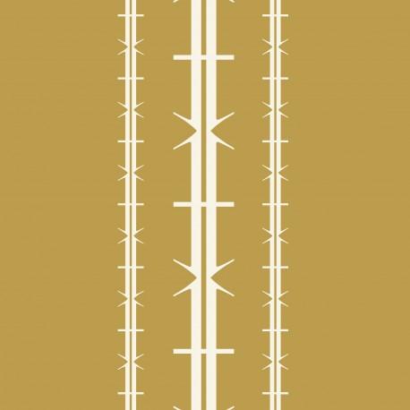 Bodoni No1A Khaki Wallpaper
