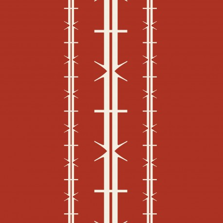 Bodoni No1A Red Wallpaper