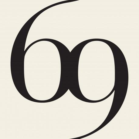 No.6A Black & White Wallpaper