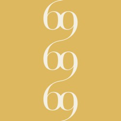 Bodoni No.6C Mustard Yellow Wallpaper