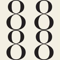 Bodoni No8A Black & White