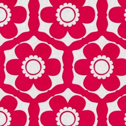 Funky Flora Candy Pink Wallpaper