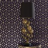 Funky Flora Regal Purple Wallpaper