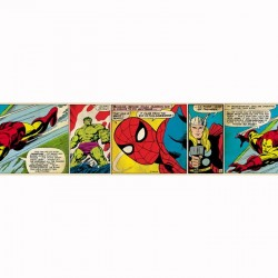 Marvel Comic Strip Border