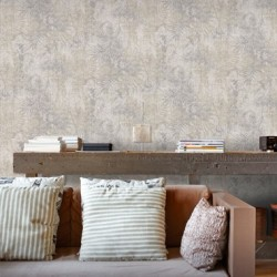 Kerala Stone Grey Wallpaper