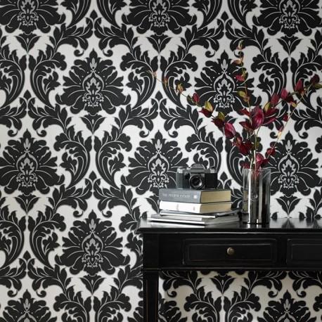 Majestic Black & White Wallpaper