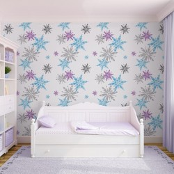 Disney Frozen Snowflake Wallpaper