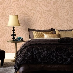 Saville Sand Yellow Wallpaper
