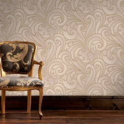 Saville Beige Wallpaper