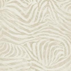 Zebra Skin Taupe Grey Wallpaper