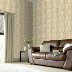 Splendour Cream Damask
