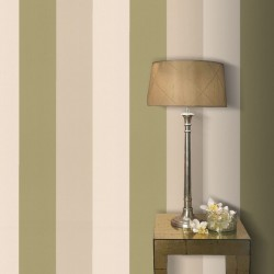 Figaro Green & Cream Wallpaper