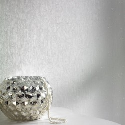 Disco Glitter Pearl White