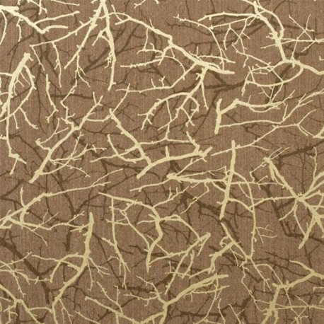 Feng Shui Brown And Gold Wallpaper