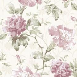 lilac wallpaper lilac floral wallpaper violet bedroom. Black Bedroom Furniture Sets. Home Design Ideas
