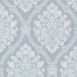 Jacquard Damask Blue