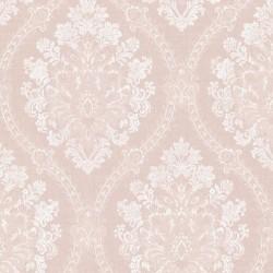 Jacquard Damask Blush Pink