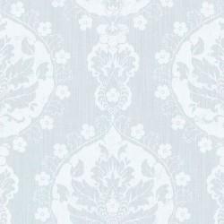 Lourdes Vintage Damask Blue