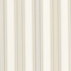 Manor Stripe Taupe and Blue