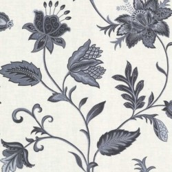 Heritage Jacobean Navy and White
