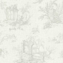 Antiquity Arch Toile Green