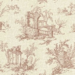 Antiquity Arch Toile Ochre Red