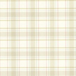 Grand Plaid Tropical Yellow and Blue