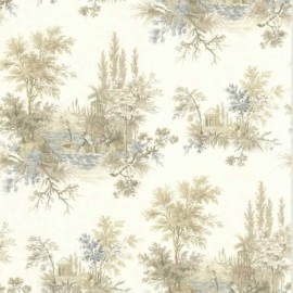 Pictorial Scenic Tolie Beige and Blue