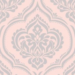 Ornamental Damask Pink